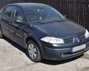 4.11.2020 Dražba automobilu Renault Megane, s ručním ovládáním. Vyvolávací cena 10.000 Kč, ➡️ ID754215