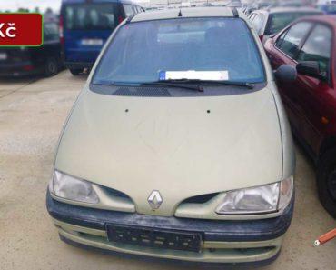 12.11.2020 Dražba automobilu Renault Megane Scenic. Vyvolávací cena 300 Kč, ➡️ ID756562