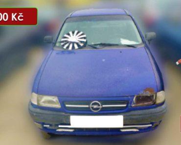 12.11.2020 Dražba automobilu Opel Astra. Vyvolávací cena 300 Kč, ➡️ ID756295