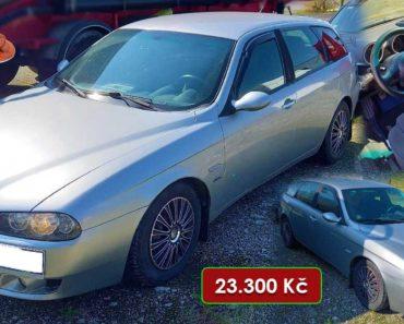 27.11.2020 Dražba automobilu Alfa Romeo 156 1.9 JTD. Vyvolávací cena 23.300 Kč, ➡️ ID760555