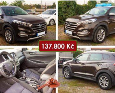 24.11.2020 Dražba automobilu Hyundai Tucson,1.7 CRDi. Vyvolávací cena 137.800 Kč, ➡️ ID759525