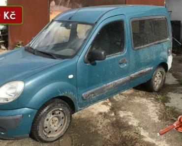 Do 5.11.2020 Dražba automobilu Renault Kangoo. Vyvolávací cena 23.700 Kč, ➡️ ID757544