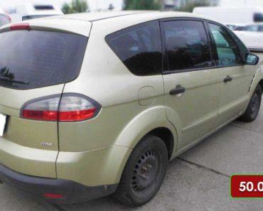 7.11.2020 Dražba automobilu Ford S-MAX. Vyvolávací cena 50.000 Kč, ➡️ ID760563