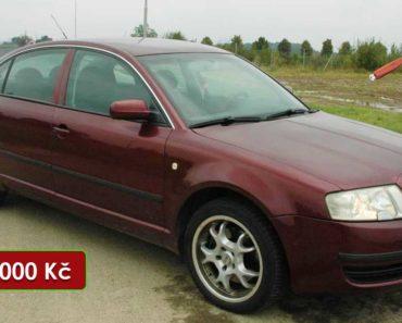 Do 8.11.2020 Aukce automobilu Škoda Superb 2.5 TDi. Vyvolávací cena 49.000 Kč, ➡️ ID755793