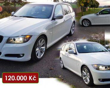 12.11.2020 Aukce automobilu BMW 320d 2.0. Vyvolávací cena 120.000 Kč, ➡️ ID761555