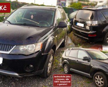 19.11.2020 Dražba automobilu Mitsubishi Outlander Intense 2.0 DI-D. Vyvolávací cena 35.000 Kč, ➡️ ID758714