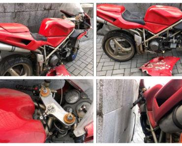 Do 31.10.2020 Výběrové řízení na prodej motocyklu Ducati 748 S. Min. kupní cena 30.000 Kč, ➡️ ID758416