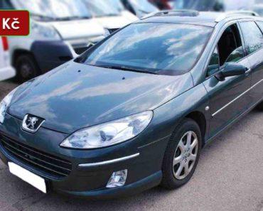 Do 27.10.2020 Aukce automobilu Peugeot 407 SW 2,0 HDI. Vyvolávací cena 36.000 Kč, ➡️ ID760380