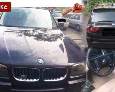 27.11.2020 Dražba automobilu BMW X3. Vyvolávací cena 40.000 Kč, ➡️ ID760546