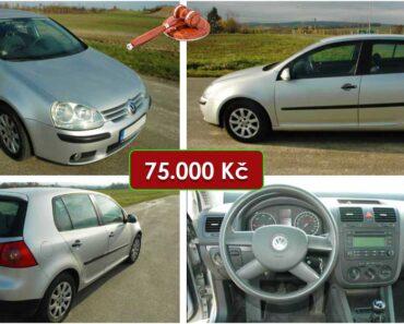 Do 26.12.2020 Aukce automobilu VW Golf 1.9 TDI. Vyvolávací cena 75.000 Kč, ➡️ ID768183