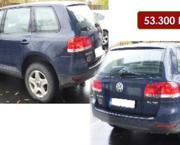 Do 15.12.2020 Výběrové řízení na prodej automobilu Volkswagen Touareg. Min. kupní cena 53.300 Kč, ➡️ ID768406