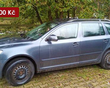 17.2.2021 Dražba automobilu Škoda Octavia Combi. Vyvolávací cena 27.000 Kč, ➡️ ID766360