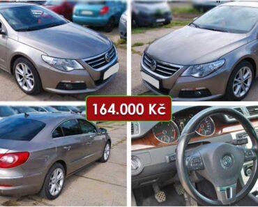 5.12.2020 Dražba automobilu VW Passat CC. Vyvolávací cena 164.000 Kč, ➡️ ID767600