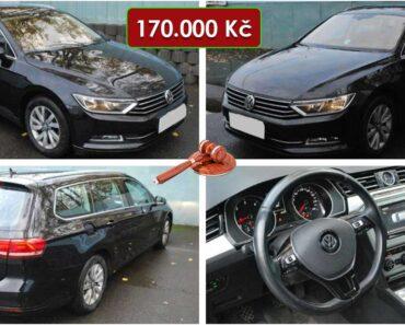 5.12.2020 Dražba automobilu VW Passat Variant. Vyvolávací cena 170.000 Kč, ➡️ ID768482