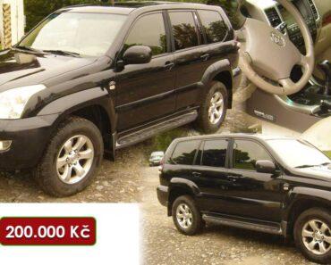 Do 6.1.2021 Výběrové řízení na prodej automobilu Toyota Land Cruiser. Min. kupní cena 200.000 Kč, ➡️ ID769769