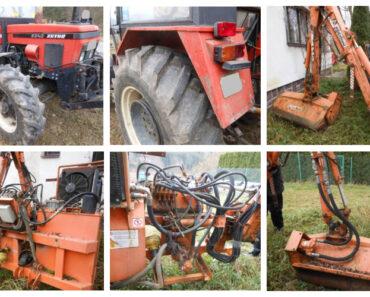 Do 2.2.2021 Výběrové řízení na prodej traktoru Zetor 6340+ příkopové rameno. Min. kupní cena - prodej nejvyšší nabídce Kč, ➡️ ID777540