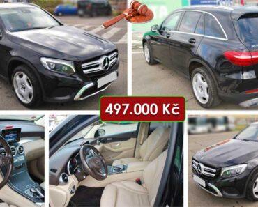 13.2.2021 Dražba automobilu Mercedes Benz GLC 220D 4MATIC. Vyvolávací cena 497.000 Kč, ➡️ ID774273