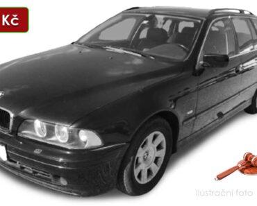 Do 4.2.2021 BMW 530D - 17.550 Kč