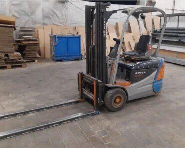 16.2.2021 Dražba vysokozdvižného vozíku STILL RX 50-15 + nabíjecí stanice. Vyvolávací cena 24.200 Kč, ➡️ ID775886