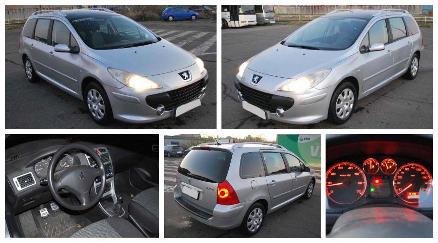Do 25.1.2021 Aukce automobilu Peugeot 307 1.6I SW. Vyvolávací cena 36.000 Kč, ➡️ ID778103