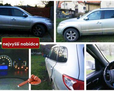 Do 13.2.2021 Výběrové řízení na prodej automobilu Hyundai Santa Fe. Min. kupní cena - prodej nejvyšší nabídce Kč, ➡️ ID776175