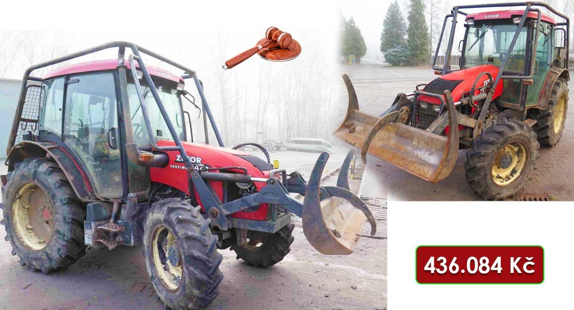 Do 16.2.2021 Výběrové řízení na prodej traktoru Zetor 7441. Min. kupní cena 436.084 Kč, ➡️ ID778304