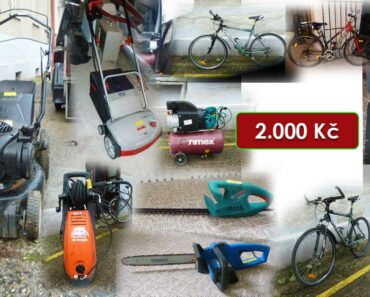 12.3.2021 Dražba ostatních movitých věcí (zahradnické potřeby a jízdní kola). Vyvolávací cena 2.000 Kč, ➡️ ID779476