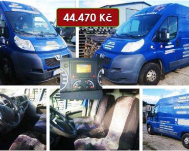 Do 3.2.2021 Aukce automobilu Peugeot Boxer 2.2 D. Vyvolávací cena 44.470 Kč, ➡️ ID776545