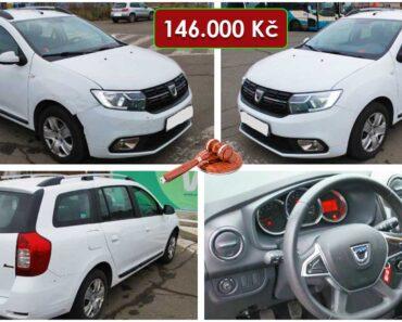 13.2.2021 Dražba automobilu Dacia Logan. Vyvolávací cena 146.000 Kč, ➡️ ID776501
