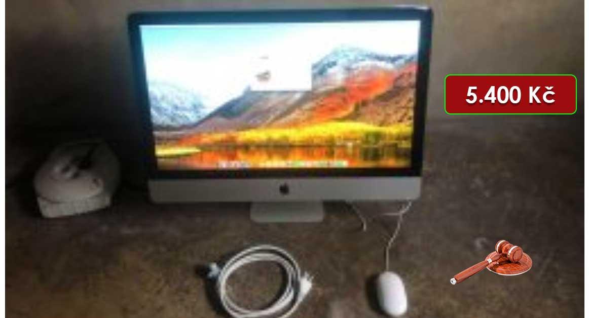 22.2.2021 Dražba elektroniky (iMac 27' 3,2 GHz i3, 4GB). Vyvolávací cena 5.400 Kč, ➡️ ID777917
