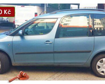 Do 22.1.2021 Výběrové řízení na prodej automobilu Škoda Roomster 1.4. Min. kupní cena 13.000 Kč, ➡️ ID776541