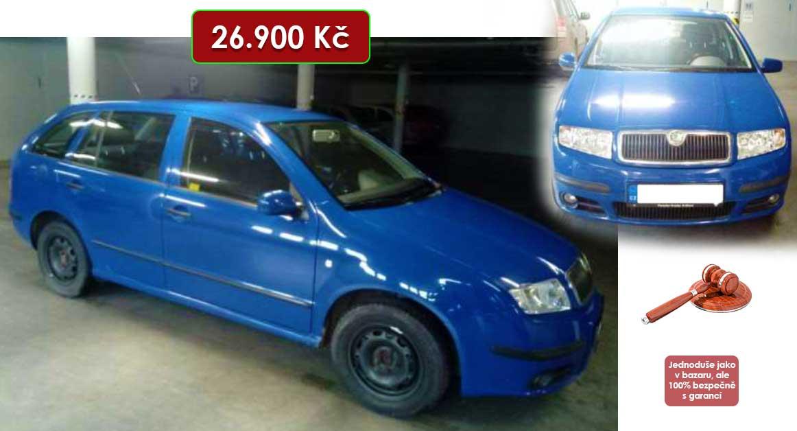 Do 2.2.2021 Výběrové řízení na prodej automobilu Škoda Fabia Kombi. Min. kupní cena 26.900 Kč, ➡️ ID777913