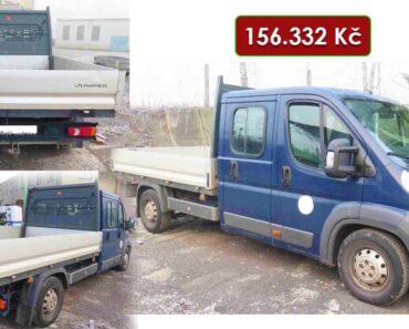 Do 16.2.2021 Výběrové řízení na prodej nákladního automobilu Citroën Jumper. Min. kupní cena 156.332 Kč, ➡️ ID778273