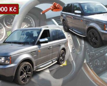 13.2.2021 Dražba automobilu Land Rover Range Rover Sport 3.6. Vyvolávací cena 213.000 Kč, ➡️ ID775059