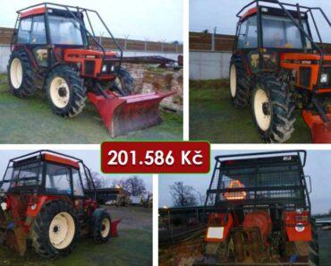 Do 25.1.2021 Výběrové řízení na prodej traktoru Zetor 7340. Min. kupní cena 201.586 Kč, ➡️ ID777301