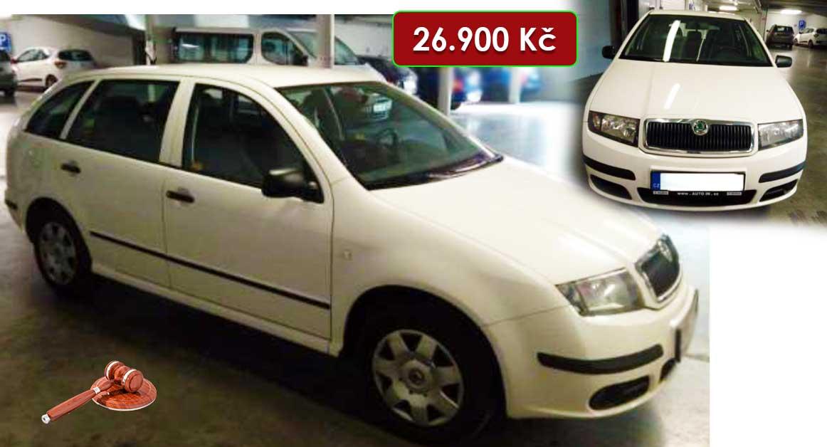Do 2.2.2021 Výběrové řízení na prodej automobilu Škoda Fabia Kombi. Min. kupní cena 26.900 Kč, ➡️ ID777930