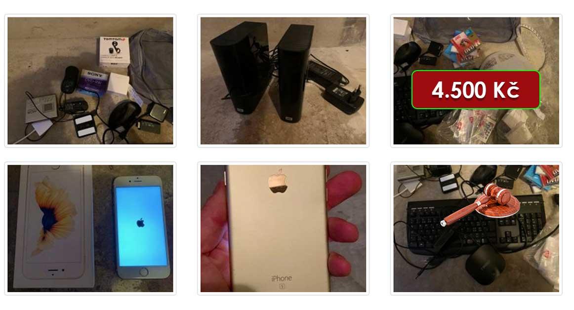 22.2.2021 Dražba elektroniky (Apple iPhone 6s 64GB Gold, počítač HP ProDesk, sluchátka a další). Vyvolávací cena 4.500 Kč, ➡️ ID777723