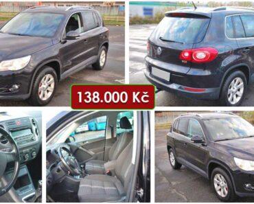 3.2.2021 Dražba automobilu VW Tiguan. Vyvolávací cena 138.000 Kč, ➡️ ID774474