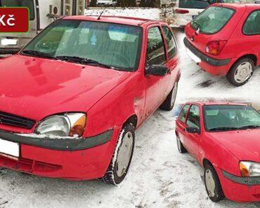 20.1.2021 Dražba automobilu Ford Fiesta 1.3i. Vyvolávací cena 8.000 Kč, ➡️ ID776002