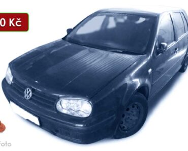 Do 29.1.2021 VW Golf - 19.600 Kč