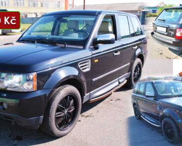 13.2.2021 Dražba automobilu Land Rover Range Rover Sport 2.7. Vyvolávací cena 183.000 Kč, ➡️ ID775040