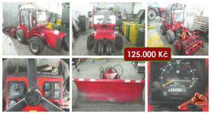Do 29.3.2021 Výběrové řízení na prodej traktoru Tigretrac. Min. kupní cena 125.000 Kč, ➡️ ID786615