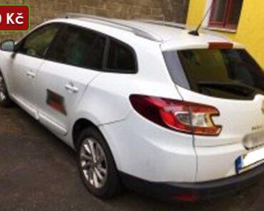 Zisková Dražba Renault Megane – vydraženo jen za: 112.111 Kč