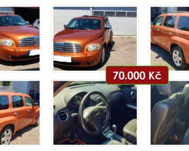 Zisková Dražba Chevrolet HHR – vydraženo jen za: 87.000 Kč