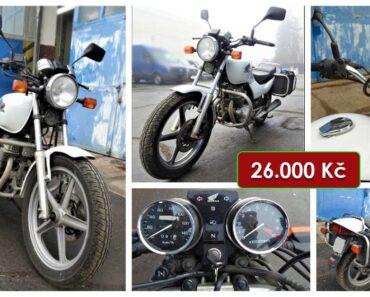 Do 14.3.2021 Aukce motocyklu Honda CB 250. Vyvolávací cena 26.000 Kč, ➡️ ID786892