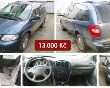 25.3.2021 Dražba automobilu Chrysler Voyager 2.5. Vyvolávací cena 13.000 Kč, ➡️ ID784345