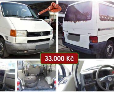 Do 14.3.2021 Aukce automobilu VW Transporter 2.5. Vyvolávací cena 33.000 Kč, ➡️ ID786913