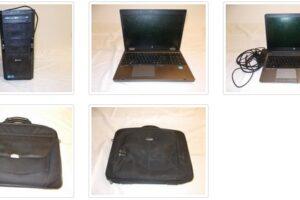 24.3.2021 Dražba počítače (2 x notebook, stolní PC a monitor). Vyvolávací cena 2.000 Kč, ➡️ ID786311