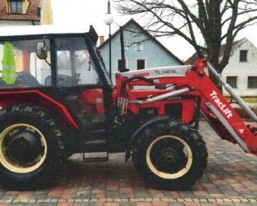 Do 22.4.2021 Výběrové řízení na prodej traktoru Zetor 6245 a čelní nakladač. Min. kupní cena 450.000 Kč, ➡️ ID795253