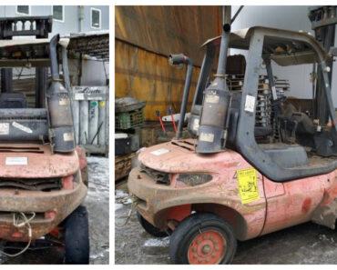 Do 16.3.2021 Aukce vysokozdvižného vozíku Linde H45D. Vyvolávací cena 96.000 Kč, ➡️ ID789031